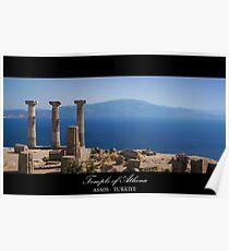Temple Of Athena / ASSOS -Turkiye Poster