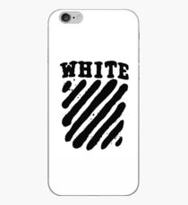 Off White Grunge Black iPhone Case