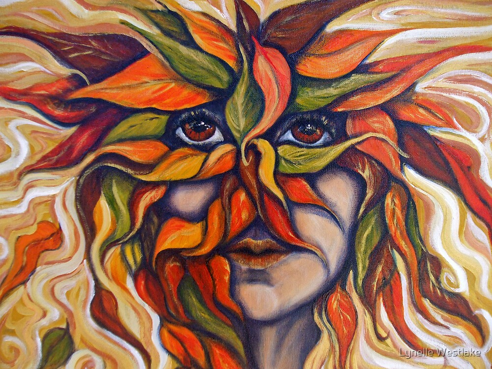 Autum Mask by Lynelle Westlake