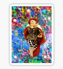 Clown Troubadour  Sticker