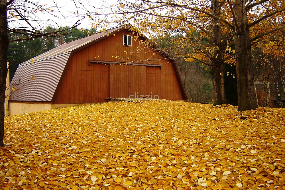 Yellow Fall Carpet by clizzio