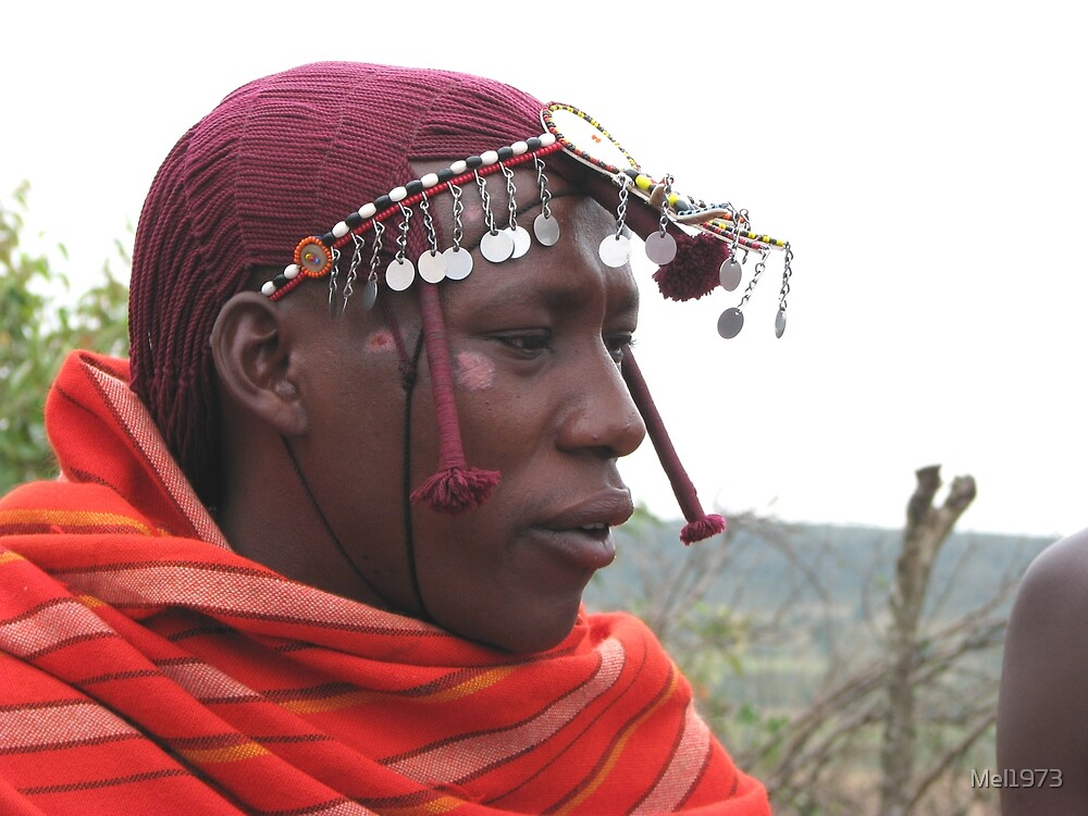 Masai man, Masai Mara by Mel1973