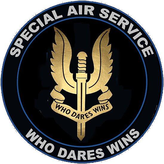 Special Air Service Logo by Nikki SpaceStuffPlus