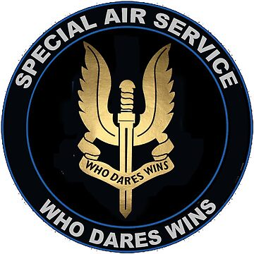 Special Air Service Logo by Spacestuffplus