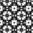 Black and white abstract pattern by Silvia Ganora