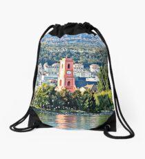 Neuchatel, Switzerland landscape photo Drawstring Bag