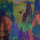 Misty Gorge by George Hunter