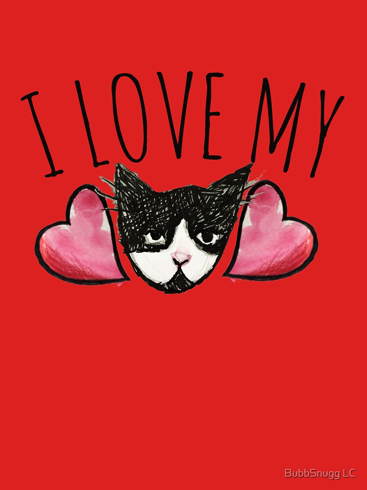 I love my cat by Boogiemonst