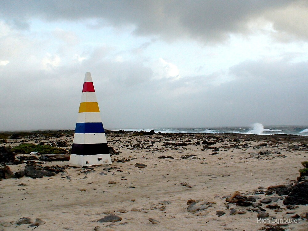 Bonaire, End with the Rainbow by Rich Synowiec