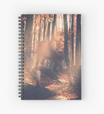 Aslan and Lucy Spiral Notebook
