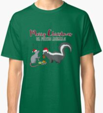 Merry Christmas Ya Filthy Animals Gift Idea Classic T-Shirt