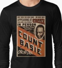 Count Basie Long Sleeve T-Shirt