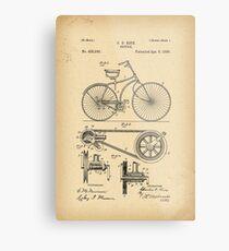 1890 Patent Bicycle Metal Print
