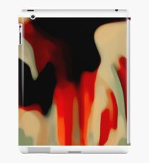 Red Black  iPad Case/Skin