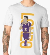 LONZO MANIA PURPLE RUSH Men's Premium T-Shirt