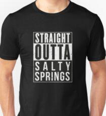 Fortnite Battle Royale - Straight Outta Salty Springs Unisex T-Shirt
