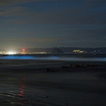 Bioluminescence Morro Bay by cathygregg