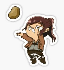 Sasha- Attack on Titan Sticker