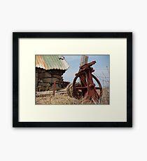 used Framed Print