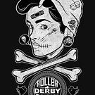 Zombie Roller Derby Girls by deerokone