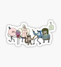 Regular Show Characters Sticker