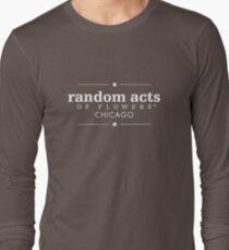 Random Acts of Flowers Chicago Long Sleeve T-Shirt