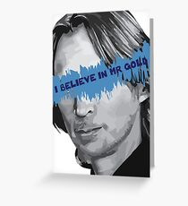 Once Upon a Time - I Believe in Mr Gold Greeting Card