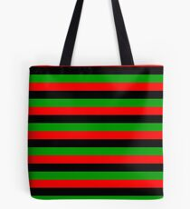 afro american flag stripes Tote Bag
