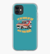 Let Me Drive My Van Into Your Heart iPhone Case