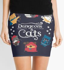 Dungeons and Cats Mini Skirt