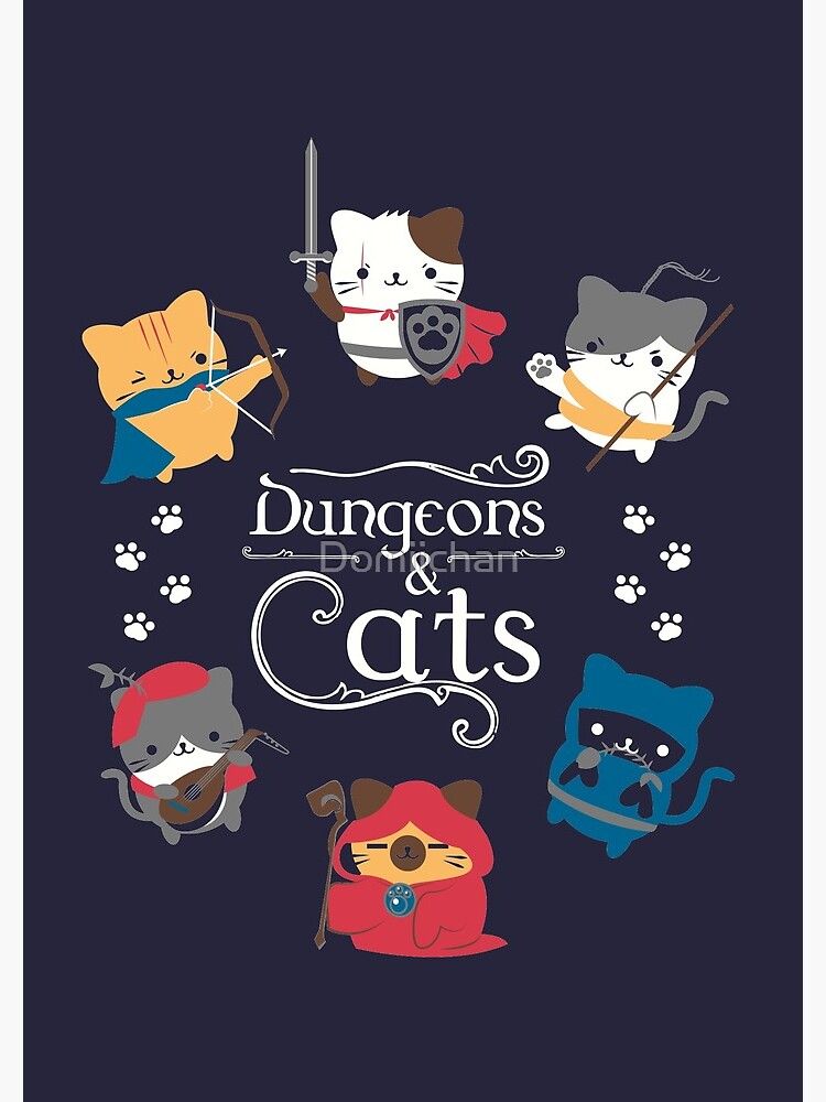 Dungeons and Cats by Domiichan