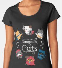 Dungeons and Cats Women's Premium T-Shirt