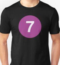 New York Raised Me / New York / 7 Train Unisex T-Shirt