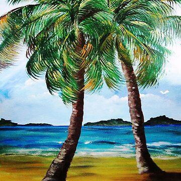 Lazy Twin Palms by kjgordon