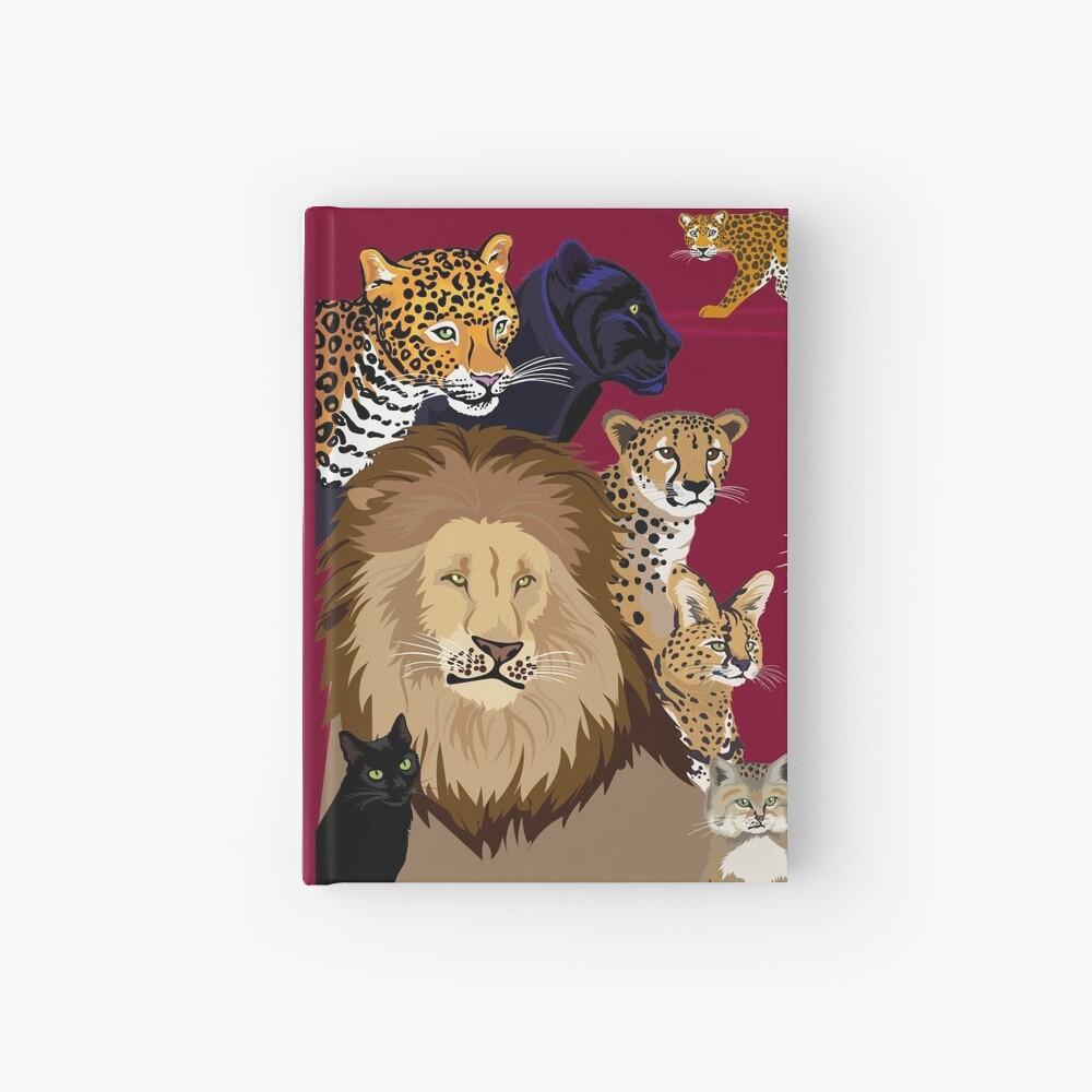 I Am Thankful For Felidae Hardcover Journal