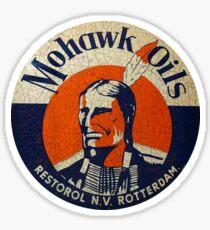 Mowhawk Oils Sticker