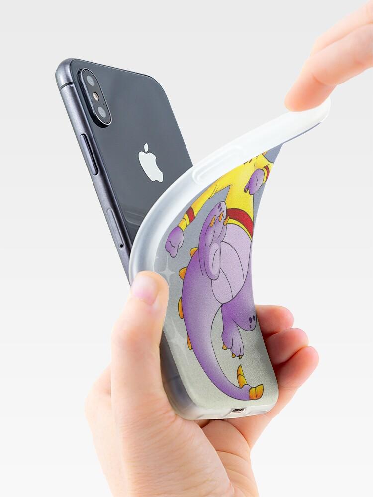 Vista alternativa de Funda y vinilo para iPhone Jersey amarillo Figment