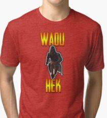 Wadu hek! PUBG! Tri-blend T-Shirt