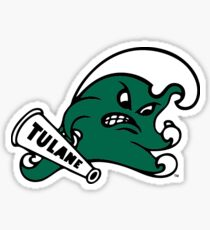 Tulane Green Wave Sticker