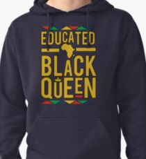 EDUCATION BY BLACK QUEEN... AFRICA Pullover Hoodie