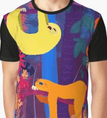 The funky nap time Graphic T-Shirt