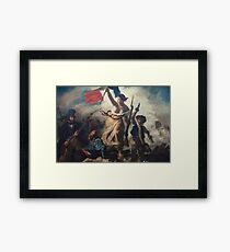 Liberty Leading the People Framed Print