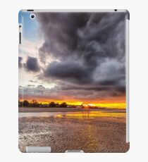 Black Gold Sunset iPad Case/Skin