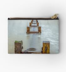 Seaview Outfall Isle Of Wight Studio Pouch