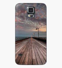 Sunrise On Ryde Pier Case/Skin for Samsung Galaxy