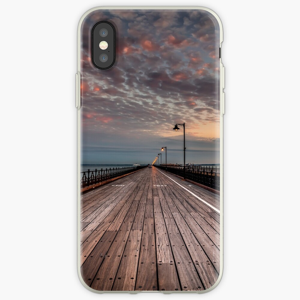 Sunrise On Ryde Pier iPhone Cases & Covers