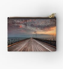 Sunrise On Ryde Pier Studio Pouch