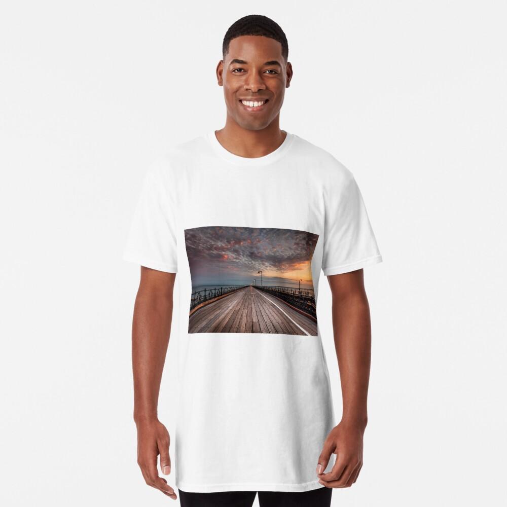 Sunrise On Ryde Pier Long T-Shirt