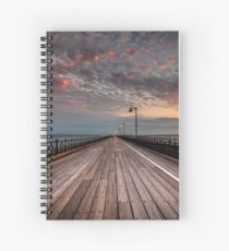 Sunrise On Ryde Pier Spiral Notebook