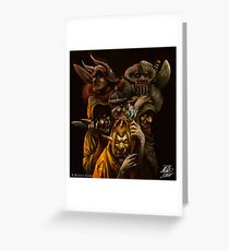 Ogres and Goblins  Greeting Card